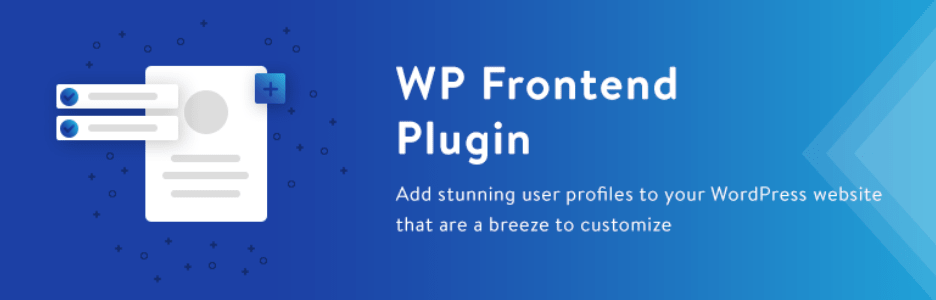 WP Frontend Profile